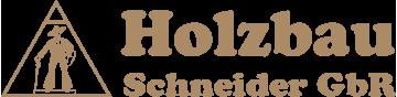 Holzbau Schneider GbR Logo